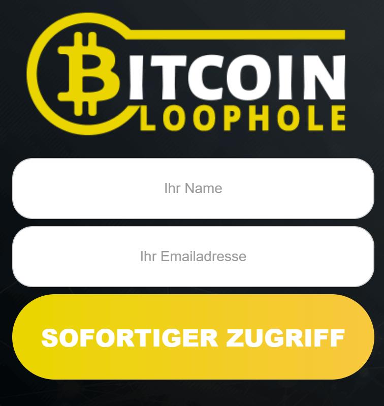 Bitcoin Anmeldung