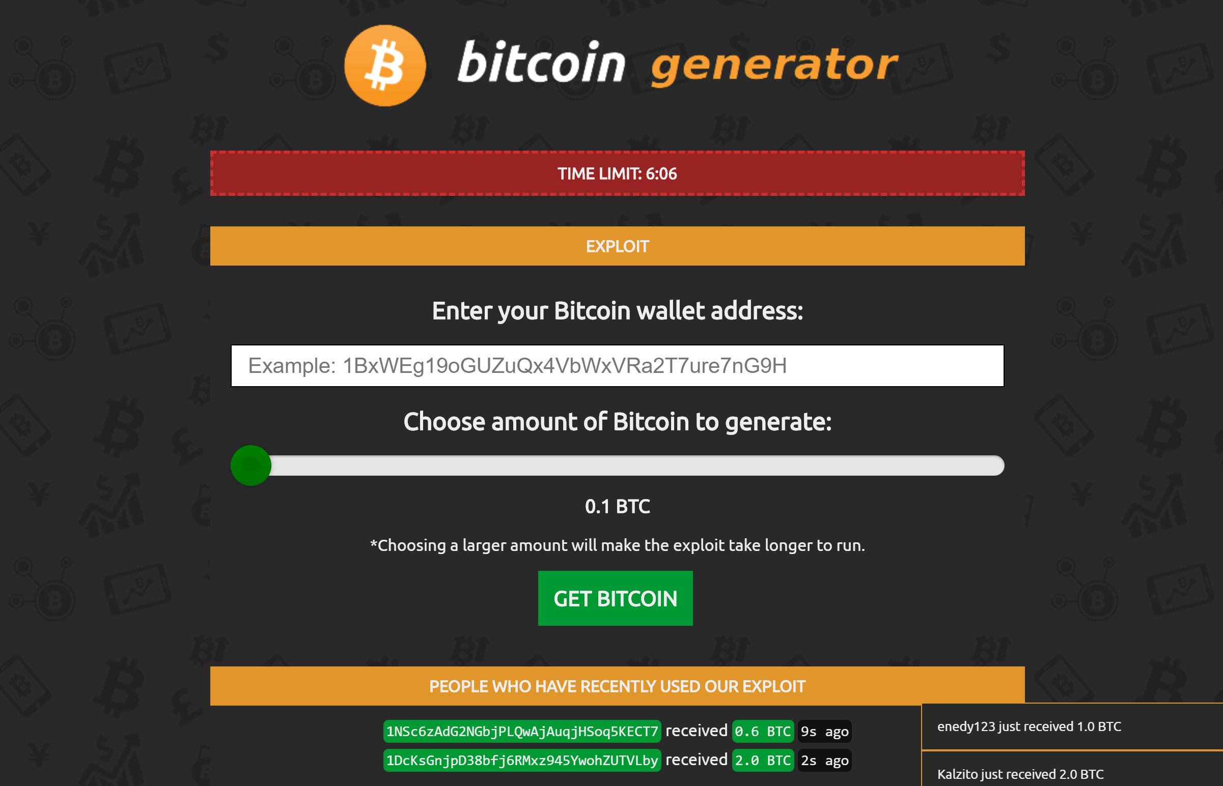 Funktioniert Bitcoin Generator wirklich?