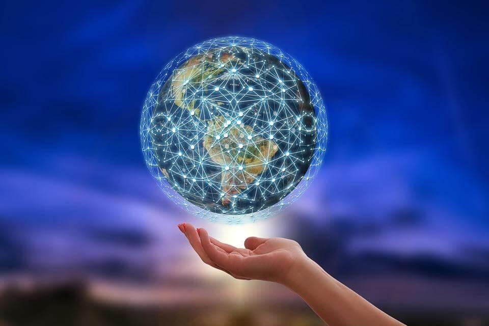 Blockchain vernetzt global