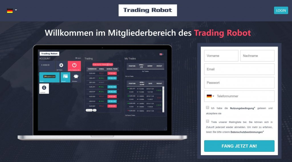 Forex Robot Trading - Free Automated Forex & Crypto Currency Trading Signals