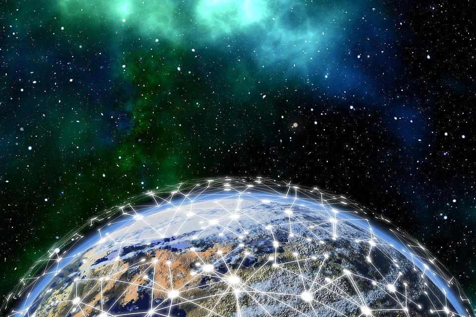 Blockchain-Übertragung vom All