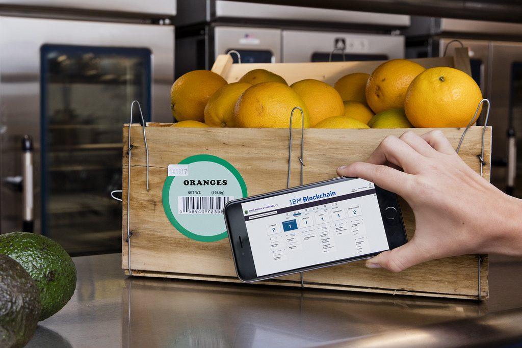 Blockchain für Lebensmittelsicherheit