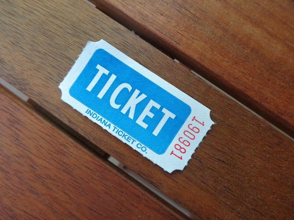 Lotterie-Ticket