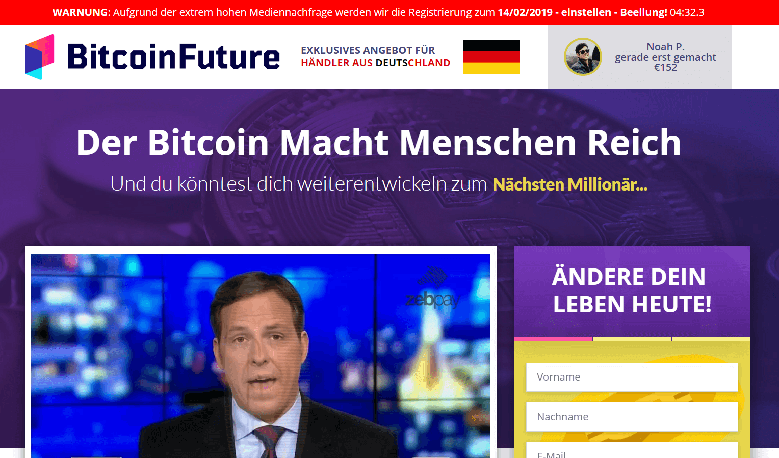 Bitcoin Future Betrug