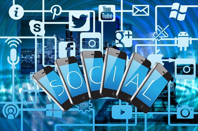 soziales netzwerk photo