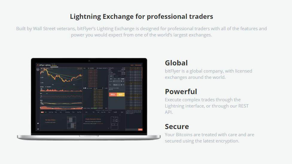 Lightning Exchange von BitFlyer