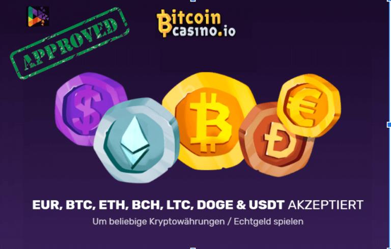 Bitcoincasino.Io Casino Bewertung