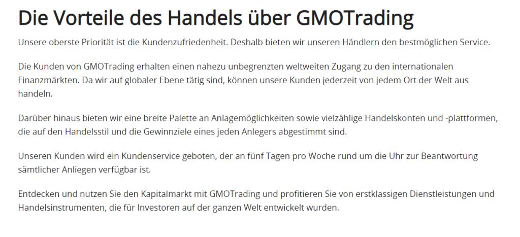 Gmo Trading Seriös