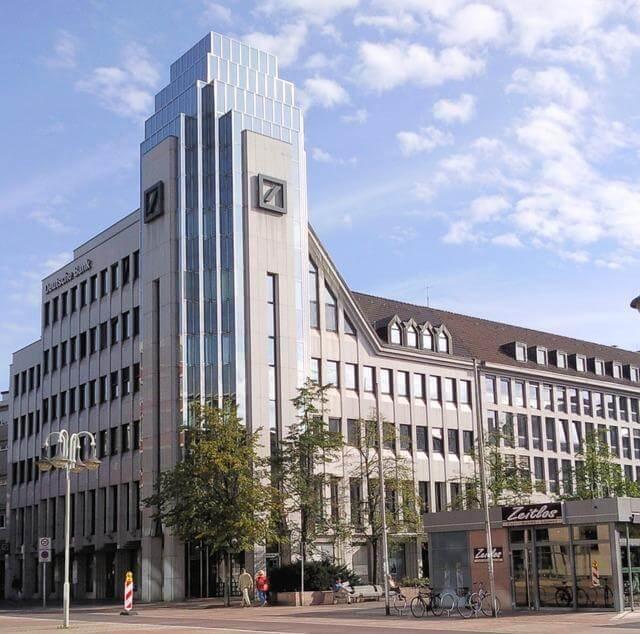 Kurs Deutsche Bank