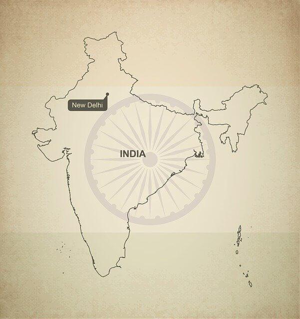 map india photo