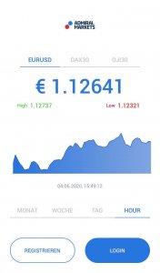 Admiral Markets iOS App