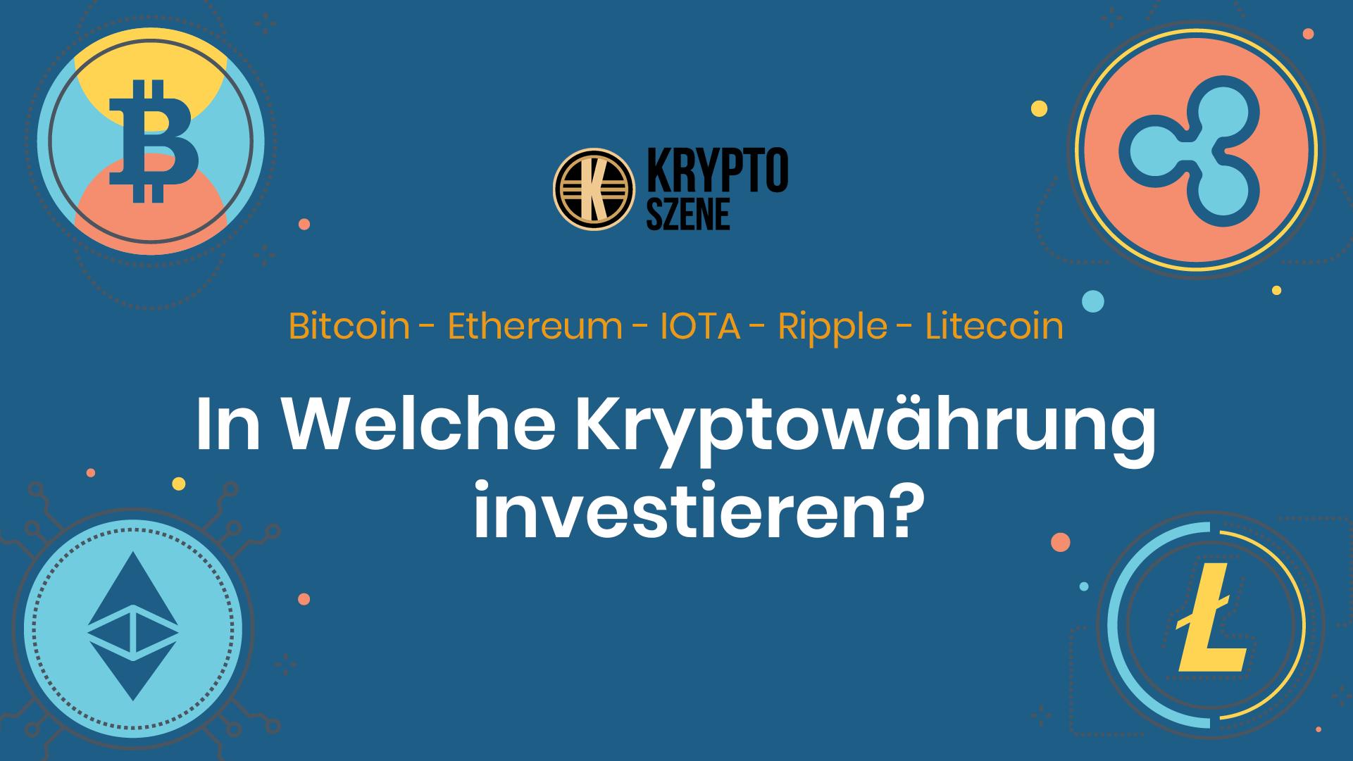 gute neue kryptowährung in die investiert werden soll anfänger im krypto-handel