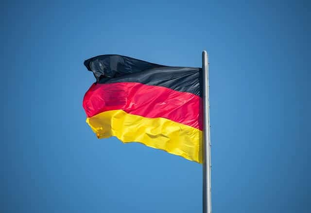 german flag photo