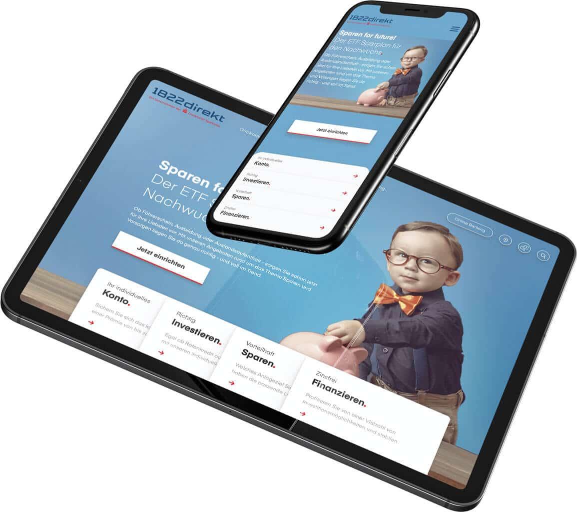 1822direkt Handy + Tablet