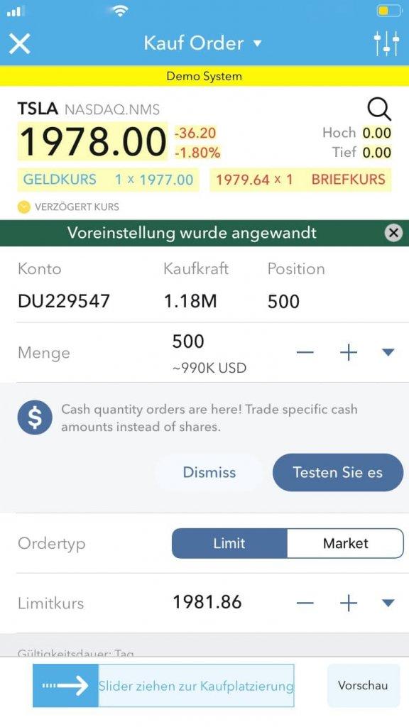 Lynx Broker Handel