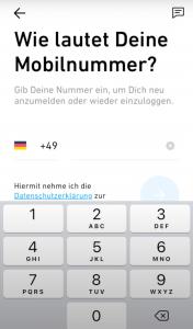 Mobilnummer Trade Republic
