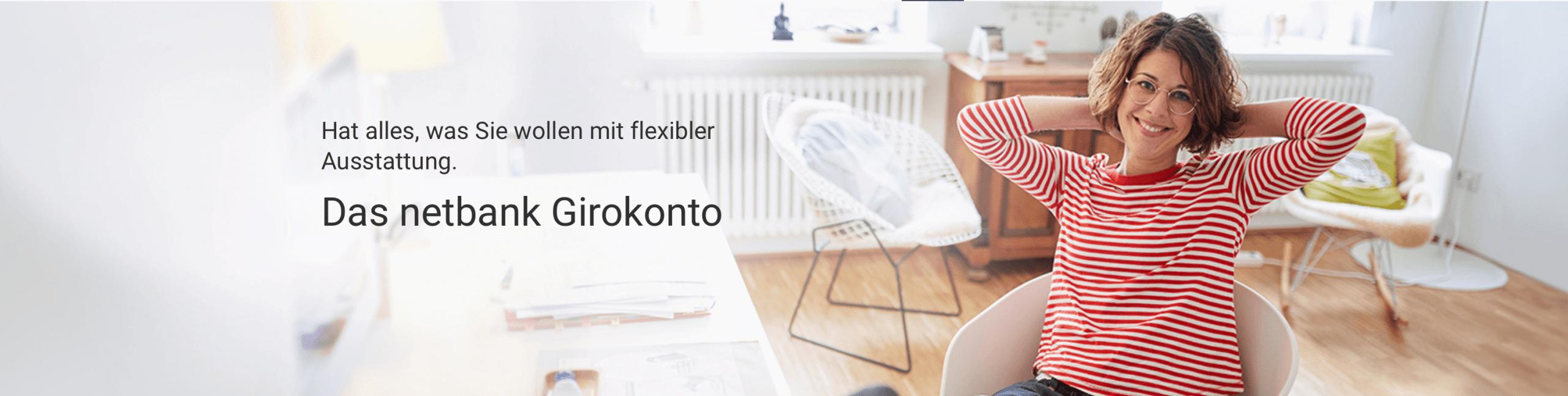 Netbank Girokonto - Header