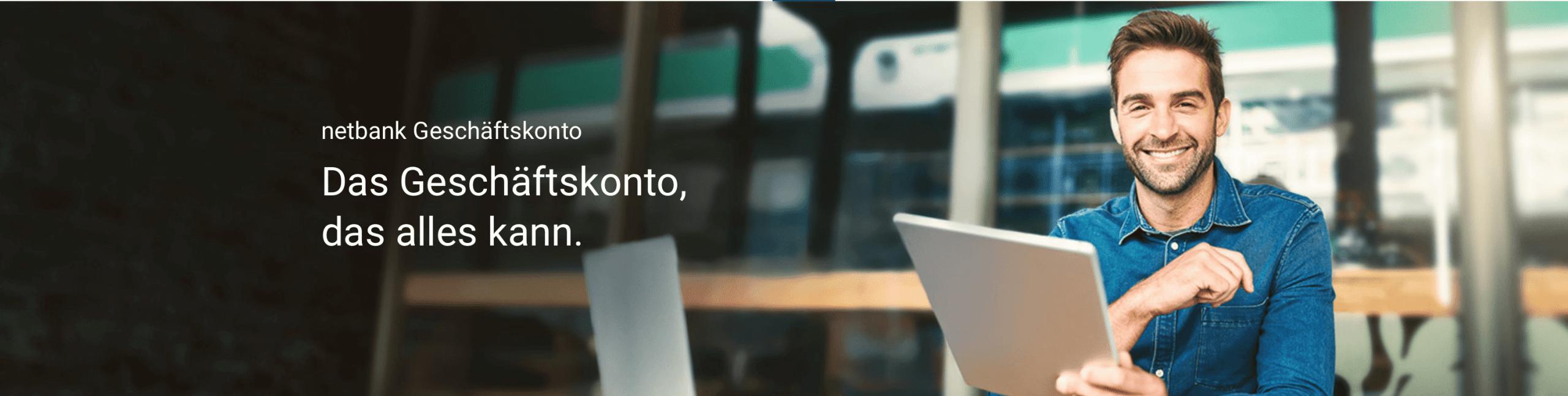 Netbank Geschäftskonto - Header