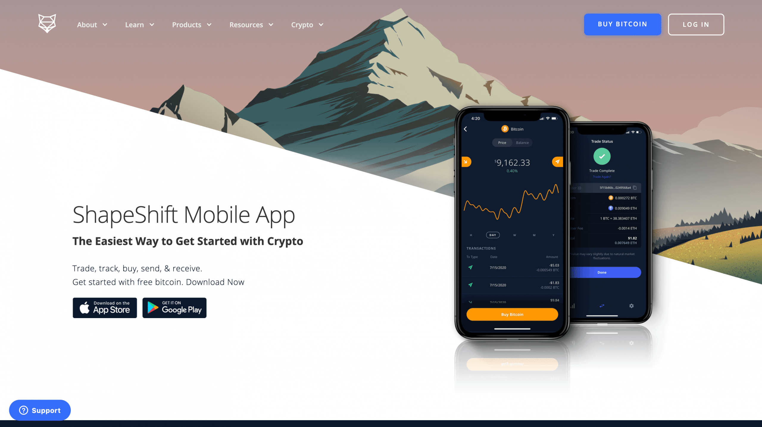 Shapeshift App
