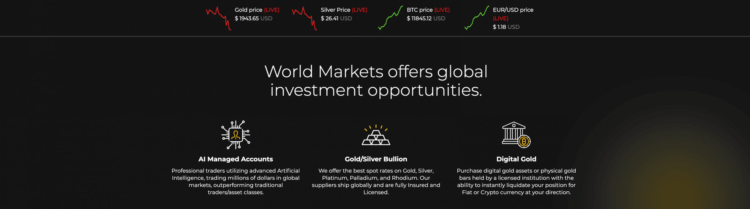 Worldmarkets Angebot