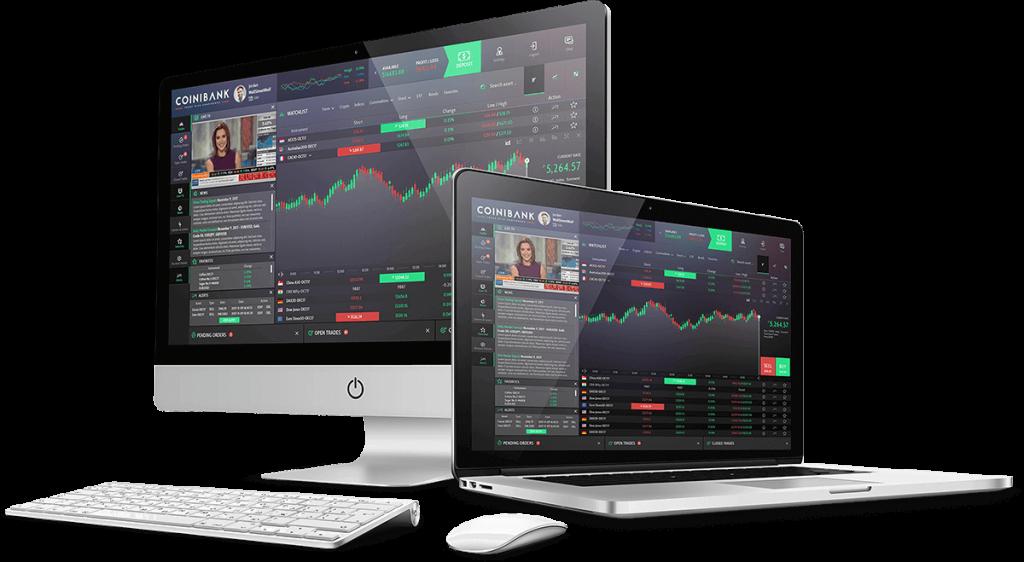 Coinibank Computer + Laptop