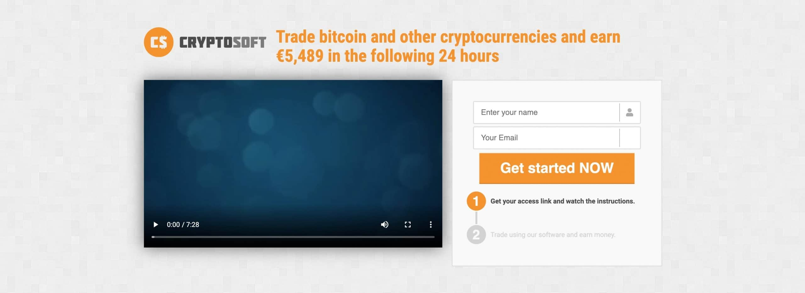 Cryptosoft Anmeldung