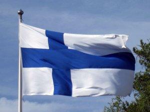 Finnland Aktien Flagge