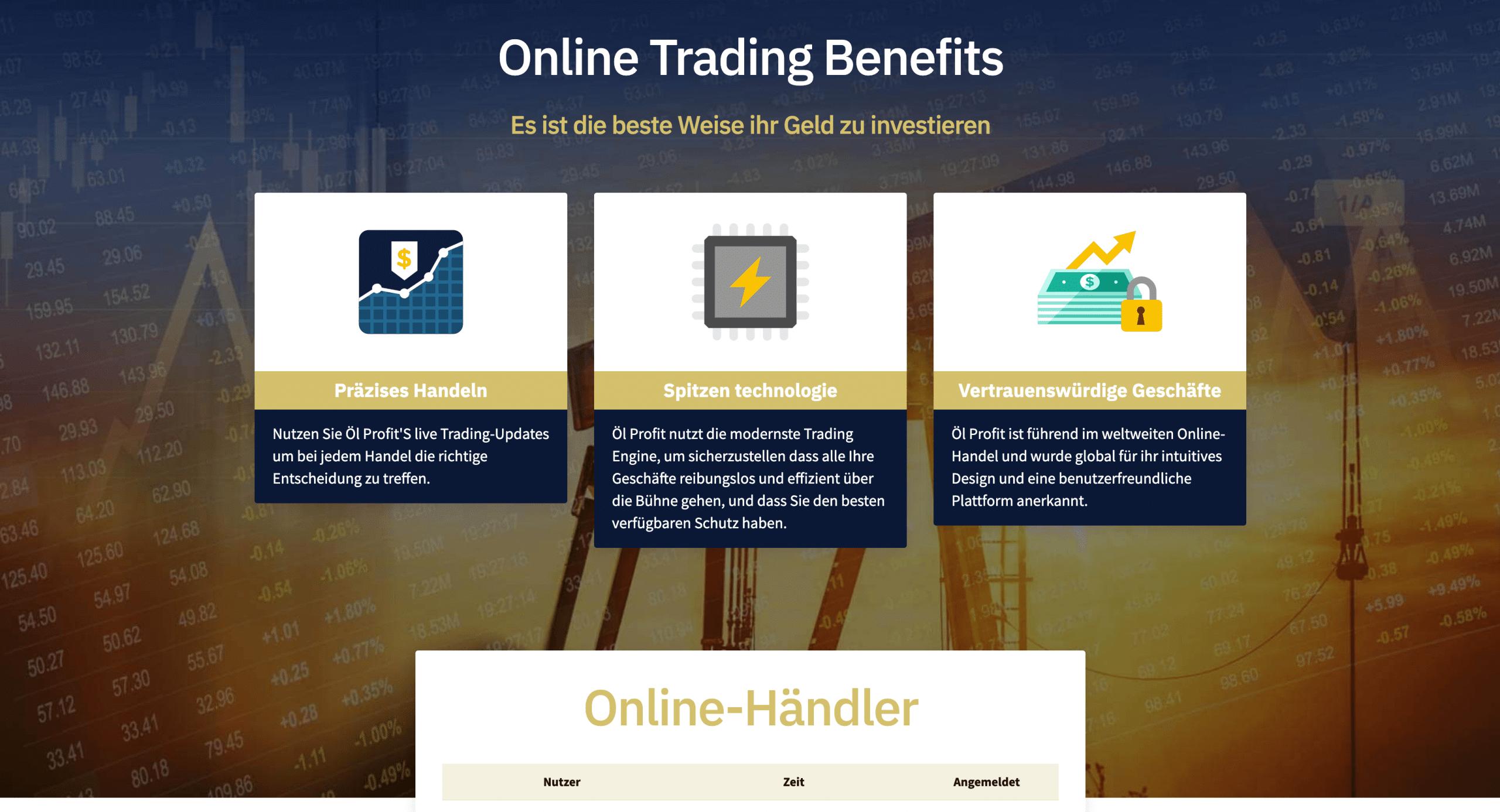 Profit Trade Handel