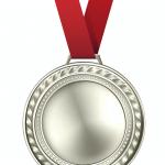 2. Platz - Silber