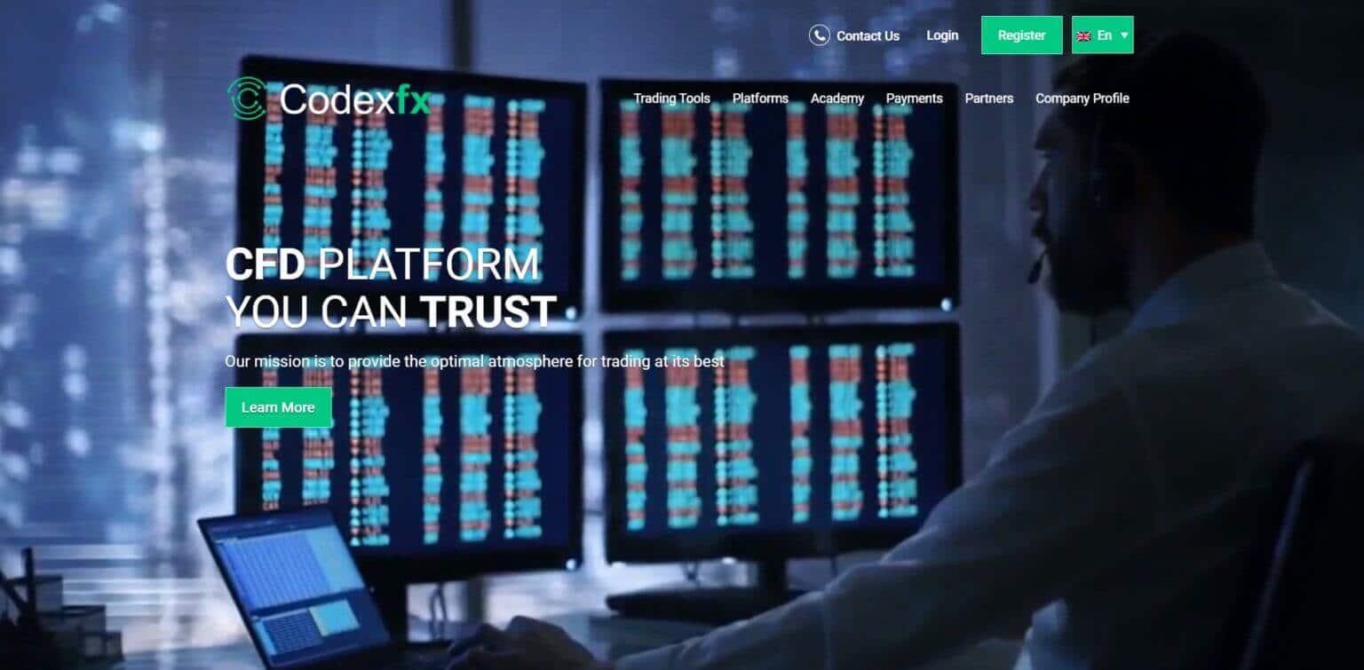 CodexFX Werbung - Header