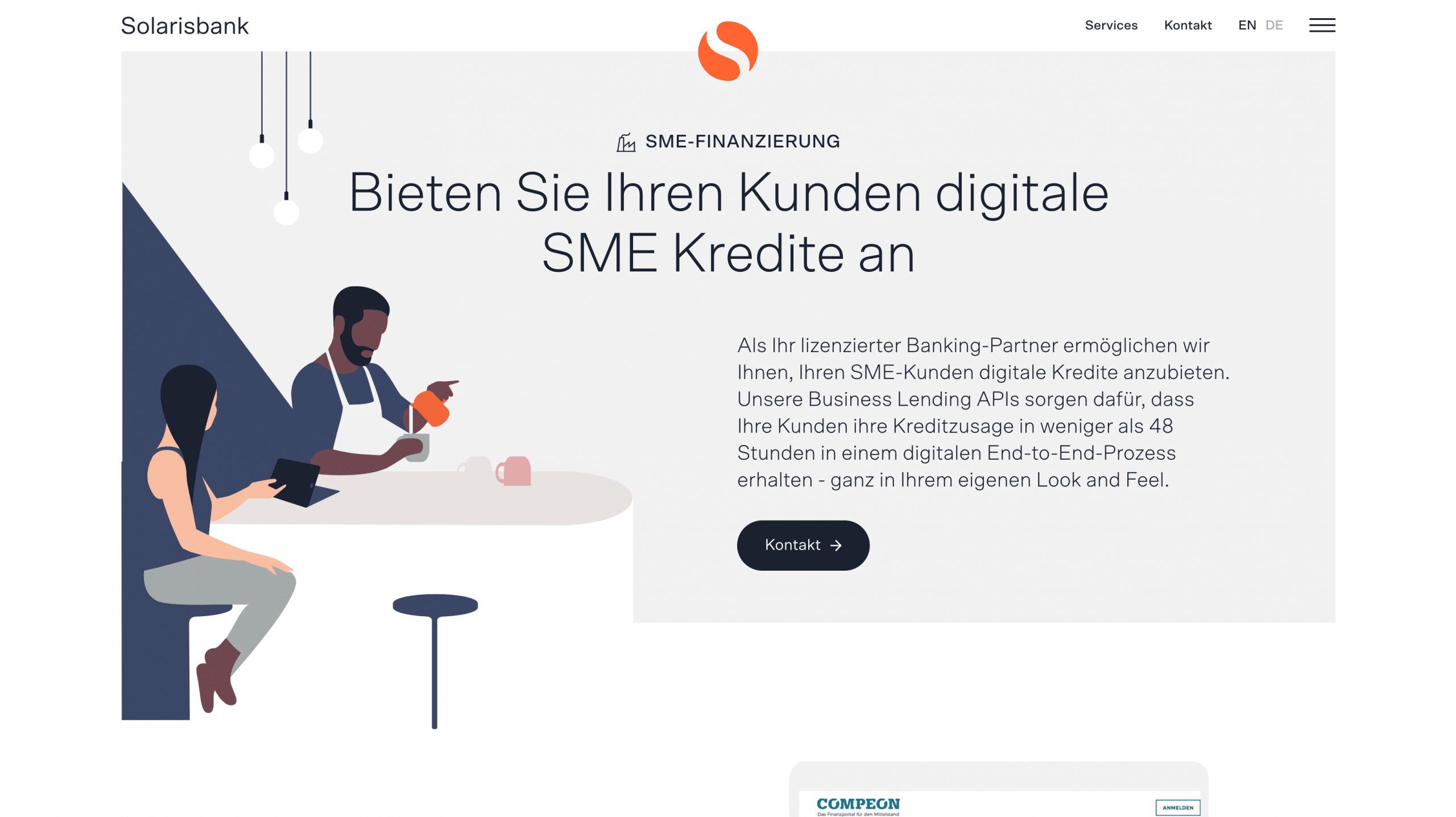 Solarisbank SME Kredit