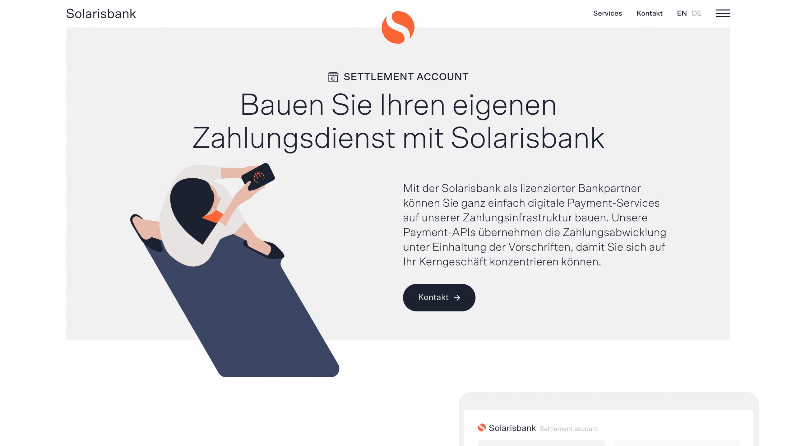 Solarisbank Zahlungsdienst