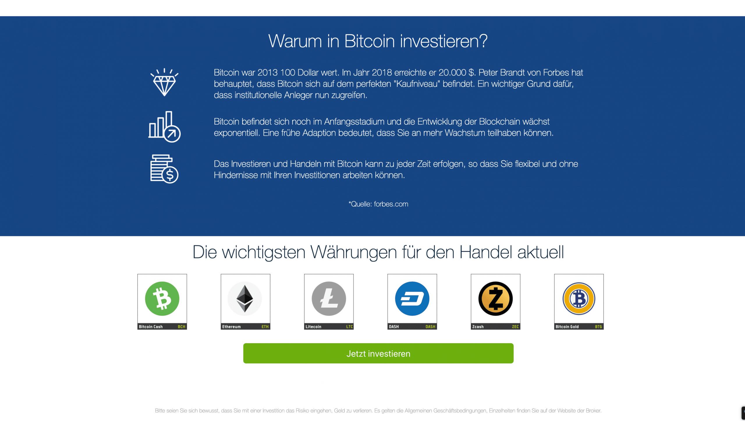 Verkaufen Sie Bitcoin für Bargeld auf Coinbase