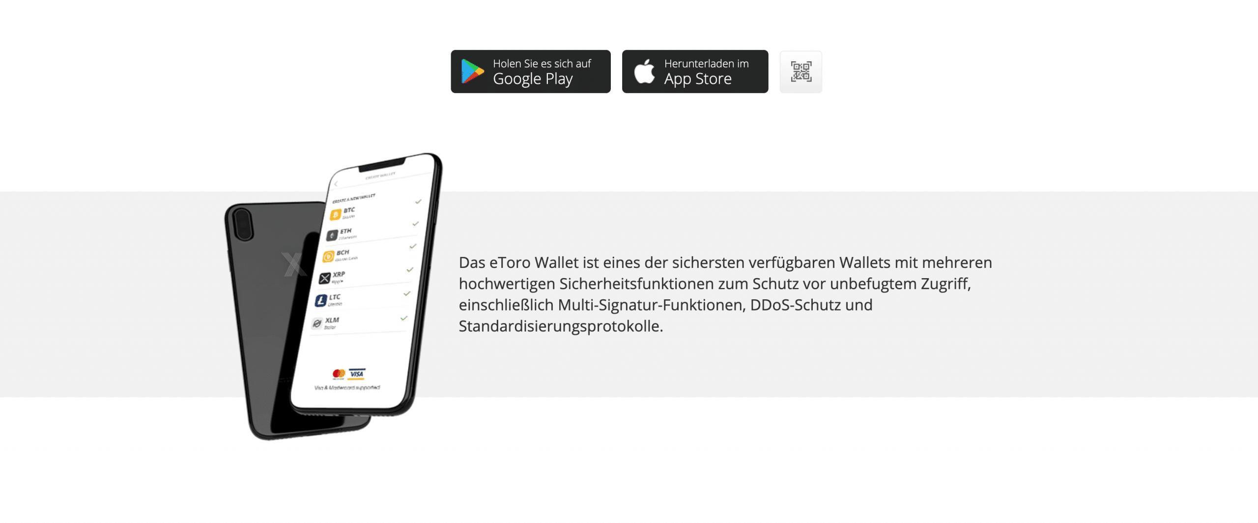 eToro Online Wallet
