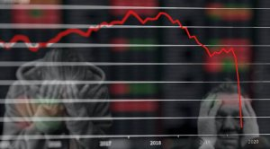 Aktien Verlust - Rezession