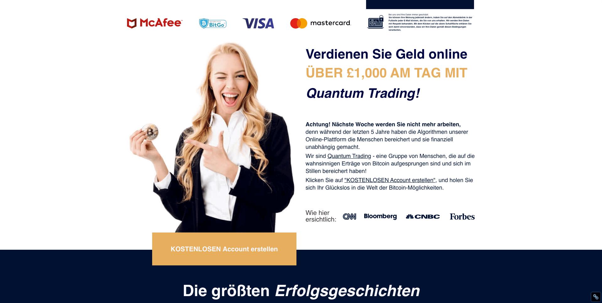 Quantum Trading geld verdienen