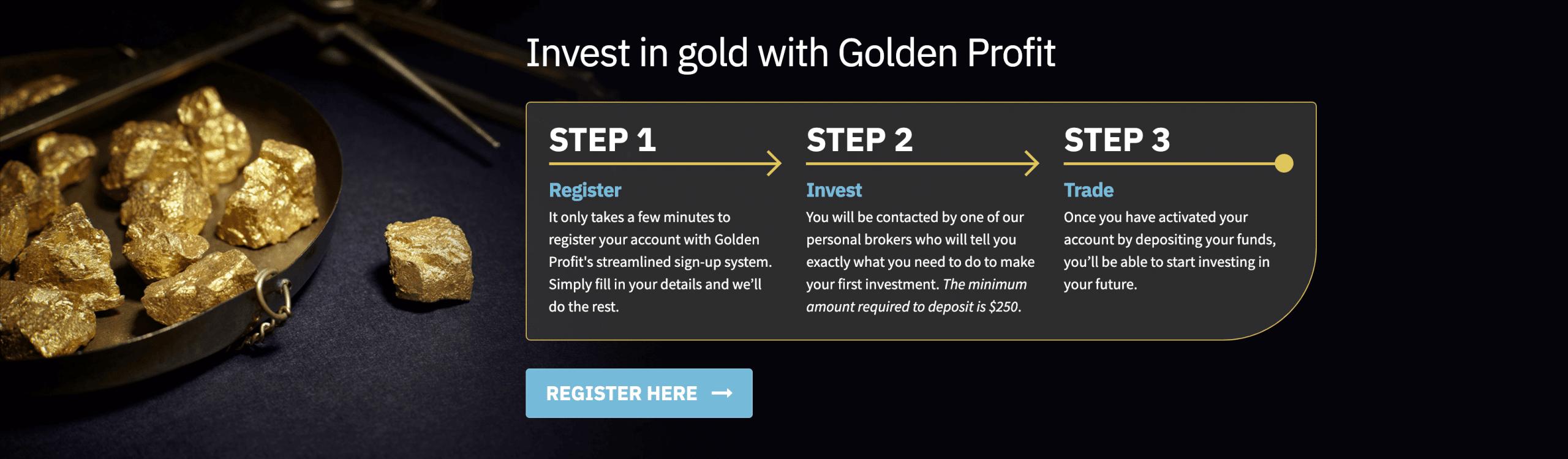 Wie funktioniert Golden Profit