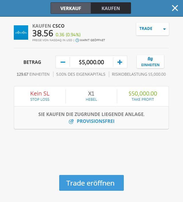Cisco Aktie Kaufen