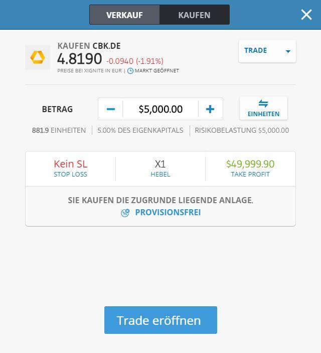 Commerzbank Aktie kaufen