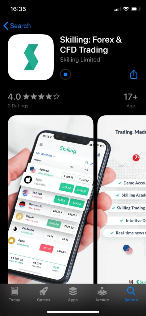 Skilling App Store