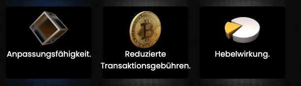 Bitcoin Power Vorteile