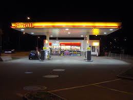 Royal Dutch Shell Aktie Gas Station