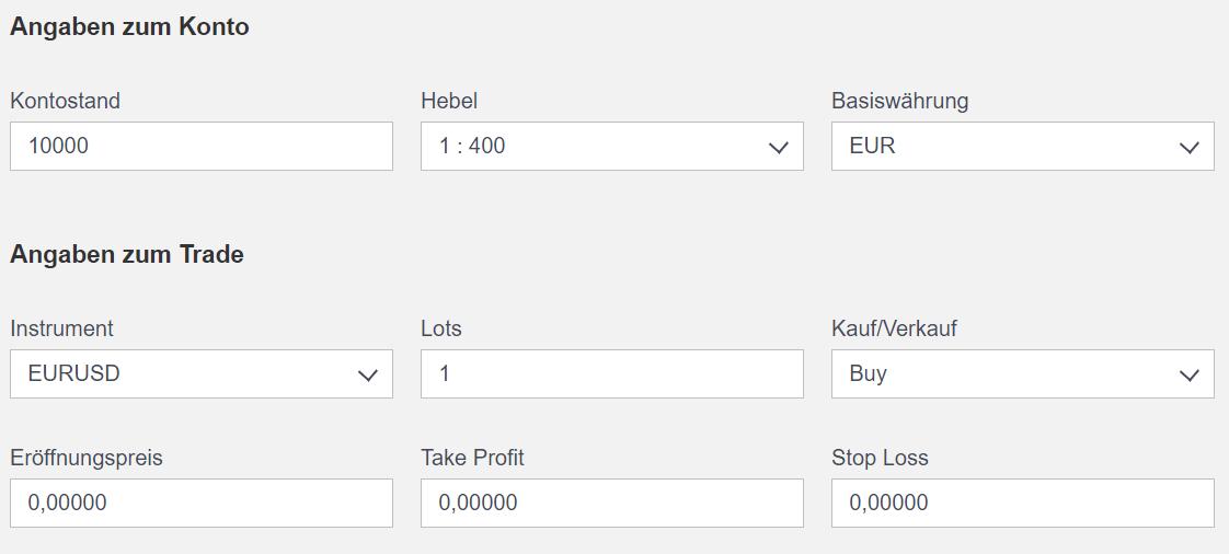 ActivTrades Smart Calculator