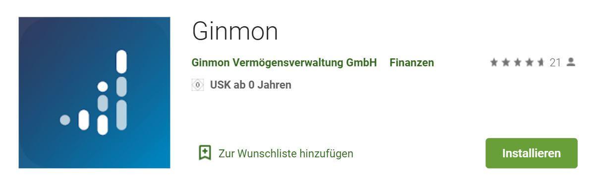 Ginmon App
