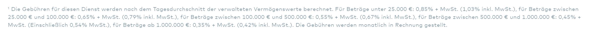 Openbank Gebühren
