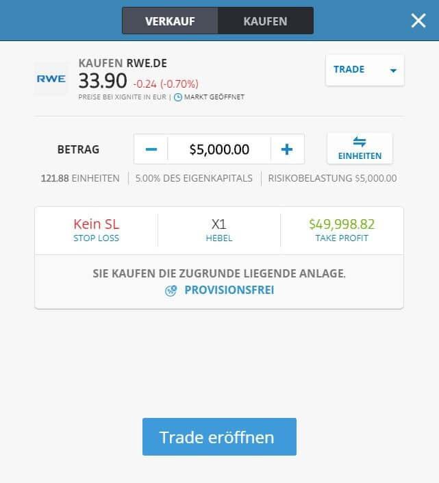 RWE Aktien Kaufen