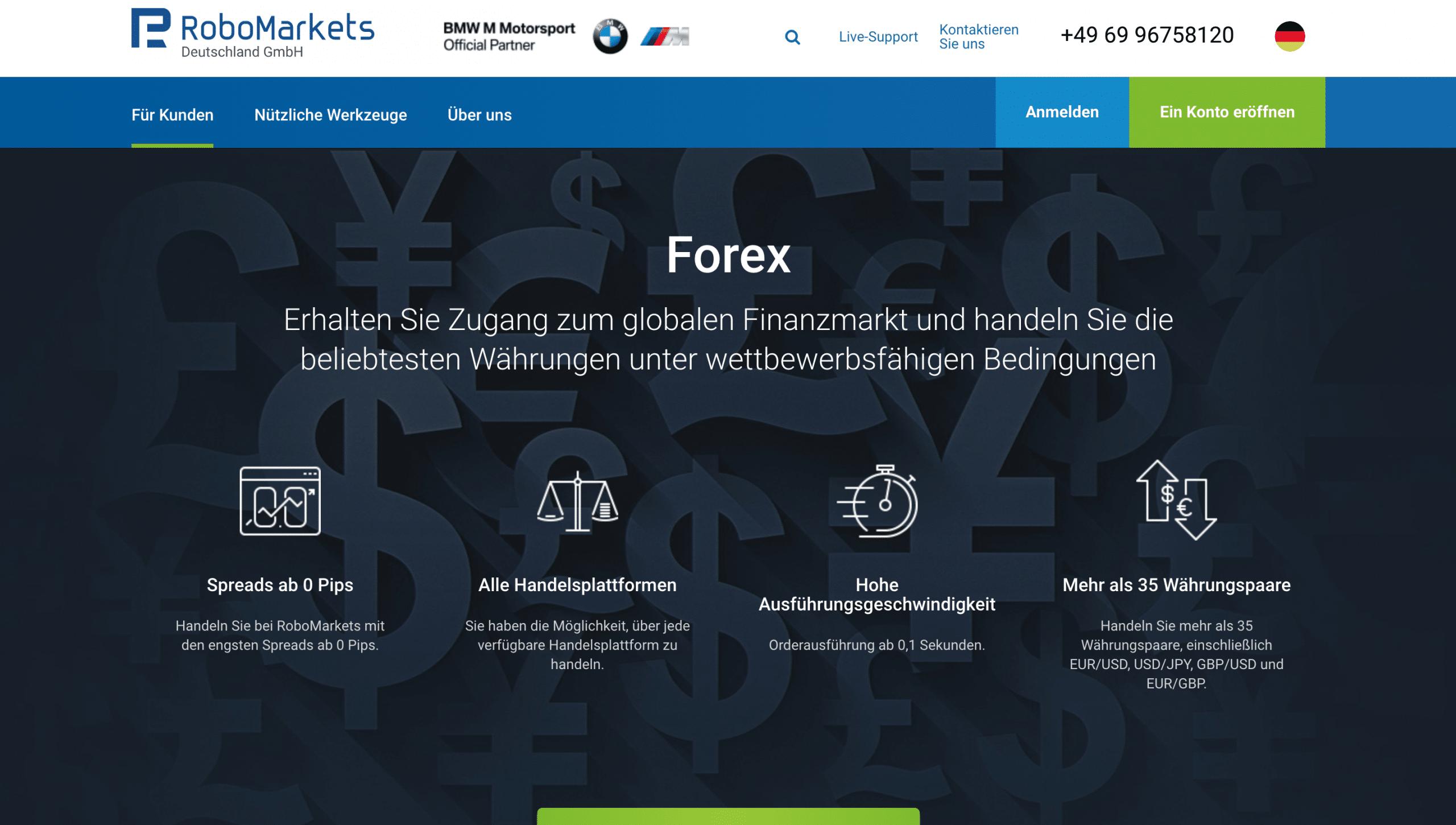 Robomarkets Forex