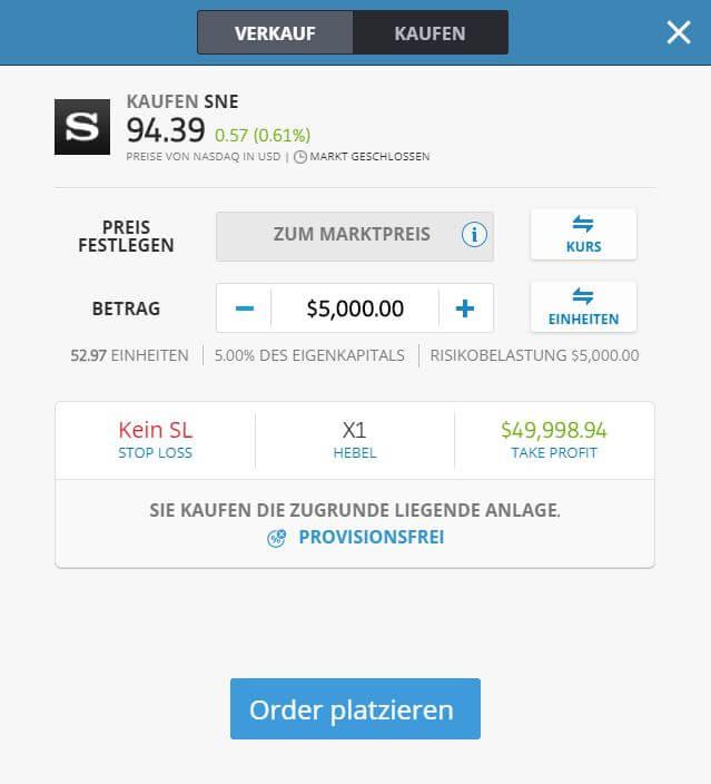 Sony Aktien Kaufen
