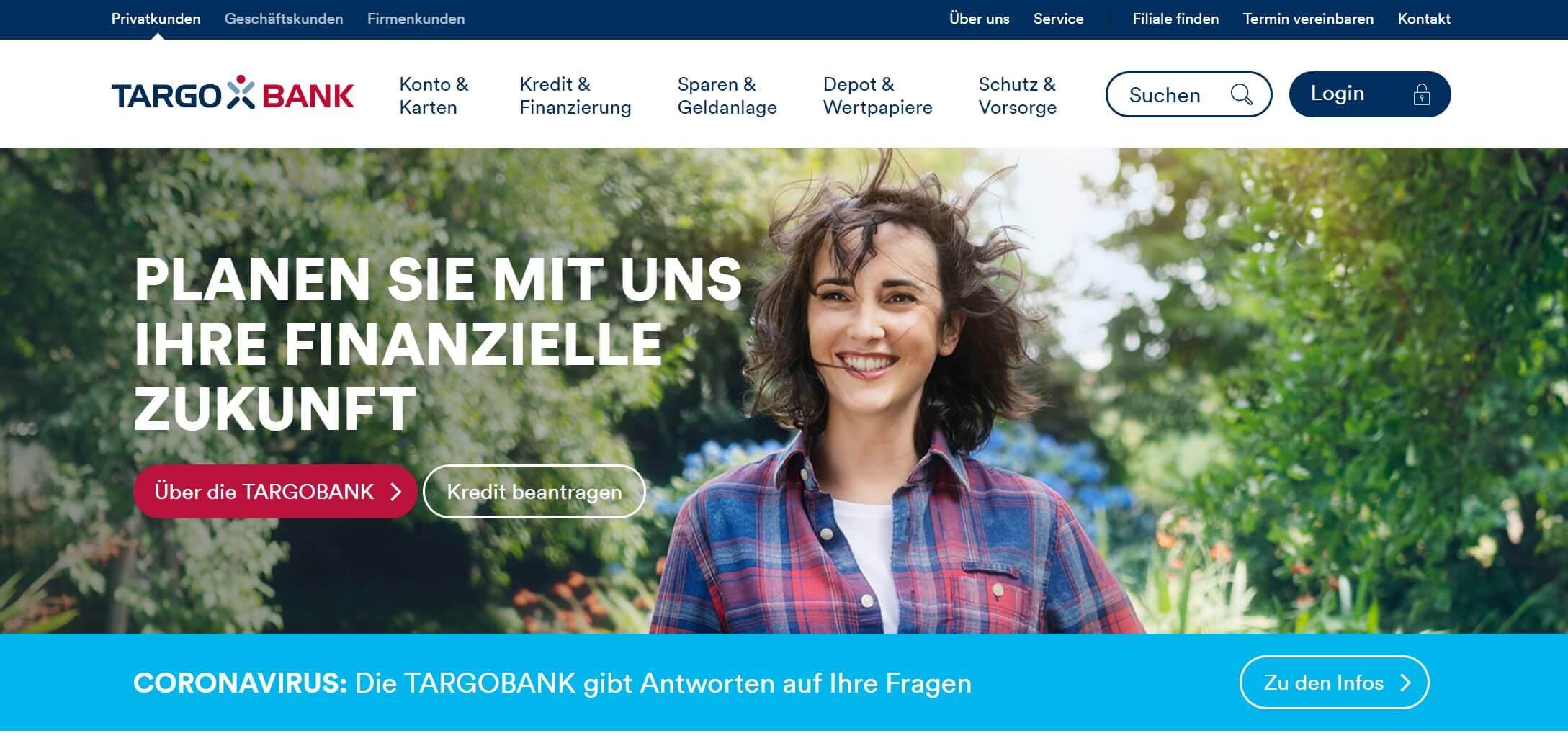Targobank Depot Startseite