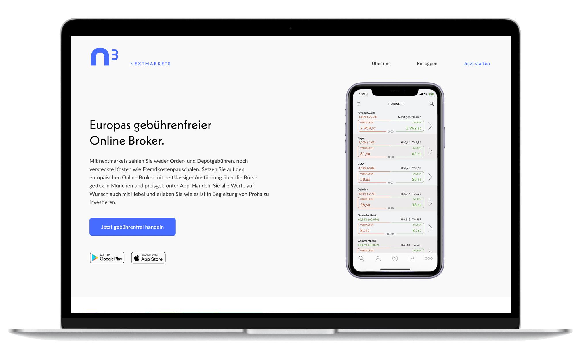Nextmarkets Test